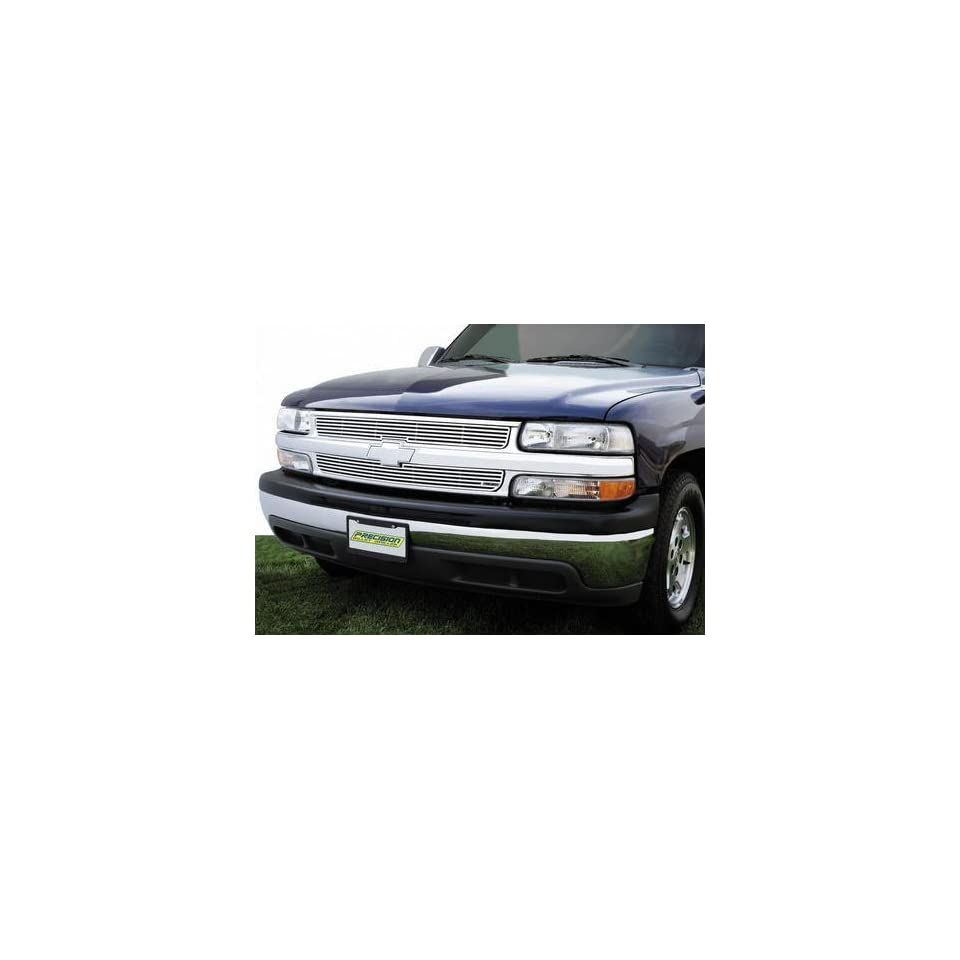 99 02 CHEVY CHEVROLET SILVERADO PICKUP BILLET GRILLE TRUCK, Bolt Over CNC Machined Aluminum (1999 99 2000 00 2001 01 2002 02) PR 701260