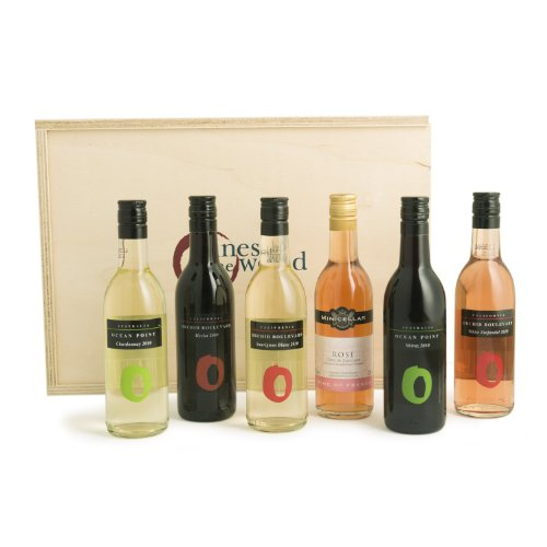 Mixed Wines of the World Gift Pack 18.7cl (Case of 6)