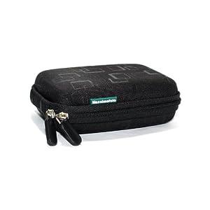 Maxsima - Étui noir semi-rigide pour Nikon Coolpix S9200 S9300 S9400 S9500