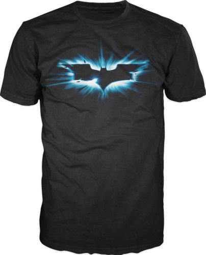 The Dark Knight Rises Batman Logo T-shirt Black