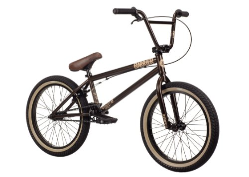 Kink 2014 Barrier BMX Bike, Chocolate, Toptube: 20.5-Inch