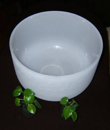 Quartz Crystal Singing Bowl 3rd Eye Chakra - 16