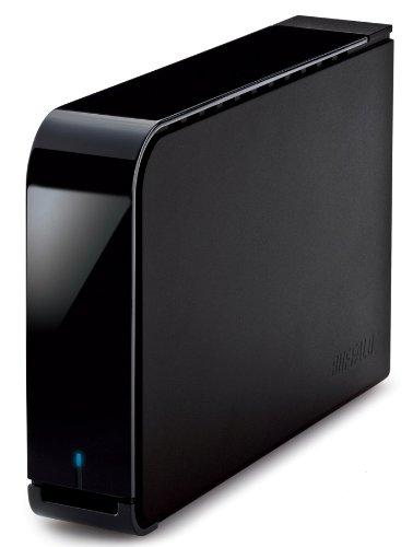 BUFFALO ターボPC EX2 USB3.0用 外付けHDD 2TB ブラック HD-LB2.0TU3-BKC