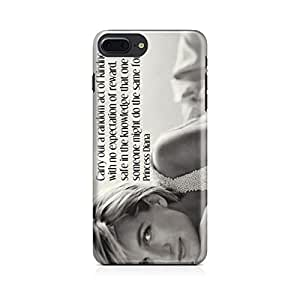 Motivatebox-Apple Iphone 7 plus cover-Princess diana Amazing Polycarbonate 3D Hard case protective back cover. Premium Quality designer Printed 3D Matte finish hard case back cover.