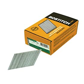 Bostitch FN1540 2-1/2-Inch by 15 Gauge by 33 to 35 Degree Angled Finish Nail (3,655 per Box)