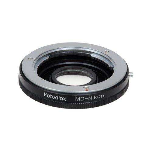 Fotodiox Lens Mount Adapter - Minolta MD, MC Rokkor Lens to Nikon Camera Adapter for Nikon D1, D2, D3, D3x, D3h, D100, D200, D300, D300s, D700, D40, D40x, D50, D60, D70, D70s, D80, D90, D3000, D3100, D5000, D7000