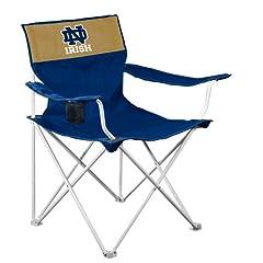 Buy NCAA Notre Dame Fighting Irish Folding Canvas Chair by Logo