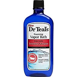 Dr. Teal\'s Tension and Fatigue Foaming Vapor Bath (16-Ounce)