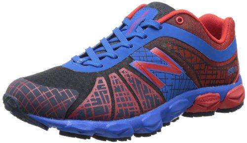 New Balance Kj890 Grade Lace-Up Running Shoe (Big Kid),Blue/Red,5.5 M Us Big Kid