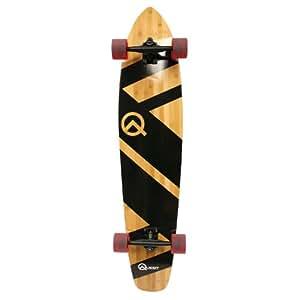 Quest Aerospace Quest Aerospace Quest Super Cruiser Artisan Bamboo Longboard Skateboard