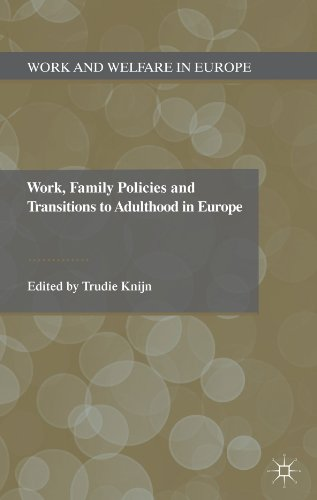 Work, Family Policies And Transitions To Adulthood In Europe (Work And Welfare In Europe) front-916439