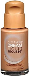 Maybelline New York Dream Liquid Mousse Foundation, Nude Light 4, 1 Fluid Ounce, 2 Ea