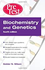 Biochemistry and Genetics Pretest Self Assessment and Review 5 by Golder Wilson