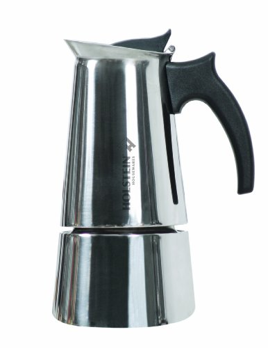 Stainless Stovetop Espresso front-13729
