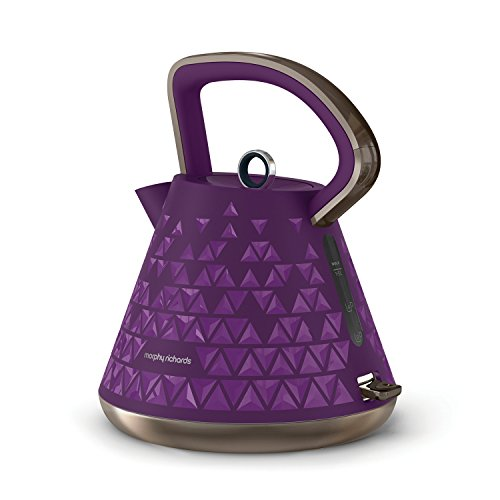 Morphy Richards 108107 Prism Kettle - Purple