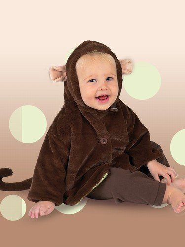 Giggle Monkey Baby Coat by Bearington - 6 to 12 Month