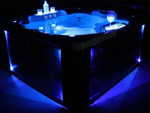 Vasa-Fit, Whirlpool W180, Jacuzzi, Whirlpool aus hochwertigem Sanitäracryl für 4 Personen in...