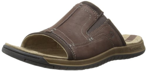 Merrell Mens Traveler Tilt Slide Thong Sandals J62209 Espresso 9 UK, 43.5 EU