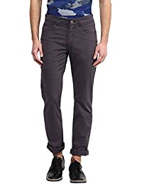 Urban Eagle By Pantaloons Men's Trousers - B01BTTMWHY