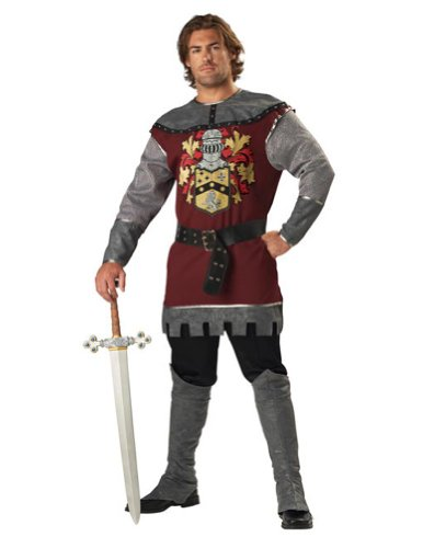Noble Knight Xl Adult Mens Costume