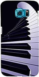 PrintVisa Music Piano Abstract Case Cover for Samsung Galaxy Note 5 Edge