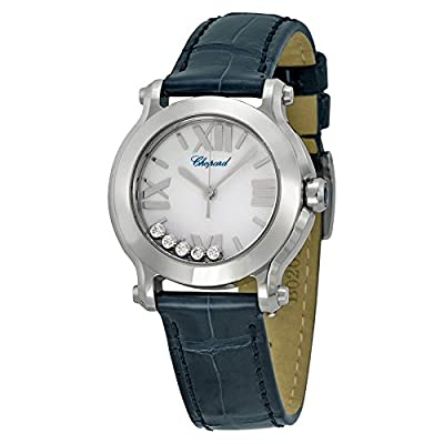 Chopard Happy Sport Mini Ladies Diamond Watch - 278509-3001