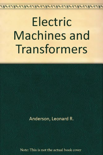 Electric Machines And Transformers