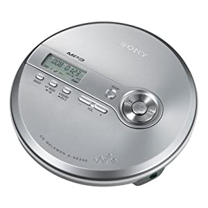 Sony CD Walkman D-NE240 - CD / MP3 player - silver
