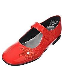 Rachel Shoes Charlene Dress Mary Jane (Little Kid/Big Kid), Red Patent, 13 M US Little Kid