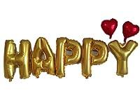幸福風船 HAPPY 風船 ハンドポンプ スマイル風船 オリジナル セット ハッピーバースデー 誕生日 イベント パーティー 二次会 飾り