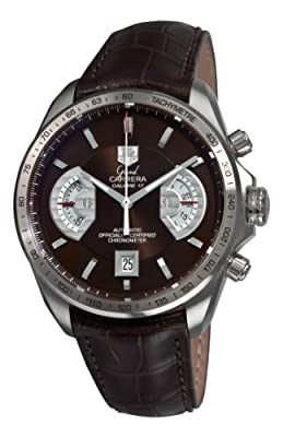 TAG Heuer Men's CAV511E.FC6231 Grand Carrera Chronograph Calibre 17 RS Brown Dial Watch