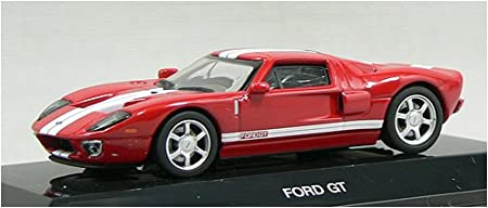 AUTOart 1/64 model car Ford GT '04 (red white stripe) (japan import)