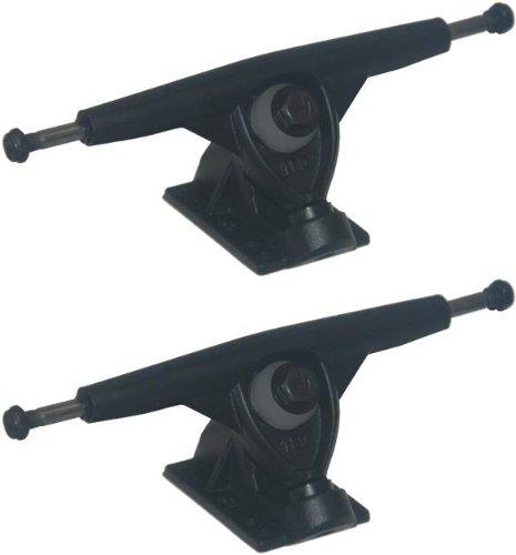 Randal R-11 Black 180mm 50 Degree Longboard Skateboard Trucks (Pair) New On Sale