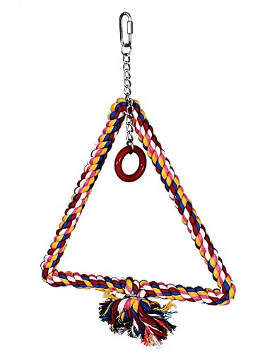 Cheap Paradise Toys Large Triangle Swing, 12-Inch W by 15-Inch L (B003PL2AQS)