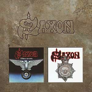 Saxon - Wheels of Steel/Strong Arm of the Law: Remastered - Zortam Music