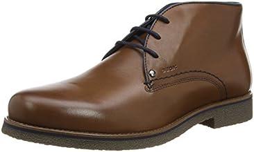 Geox U Claudio A, Desert boots homme, Marron (C6026), 45 EU