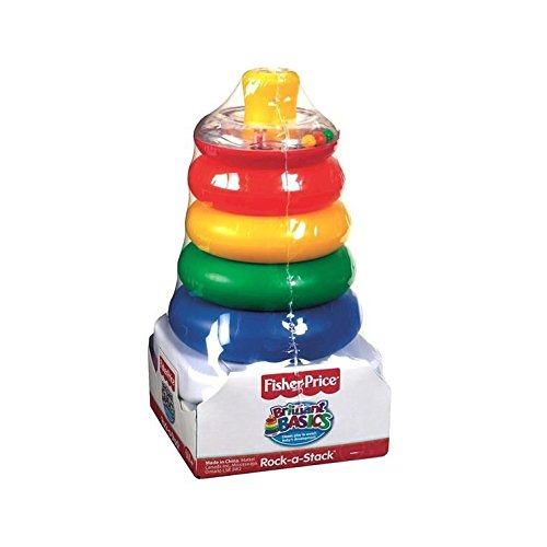 Fisher-Price Brilliant Basics Rock-a-Stack, 6-36 months - 1