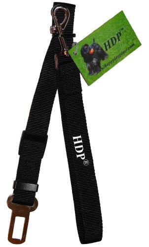 Dogit Car Safety Belt Universal Attachment, Black 25mm x 55-87cm (1