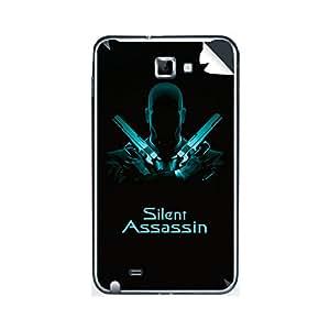 ezyPRNT Samsung Galaxy Note Silent Assassin mobile skin sticker