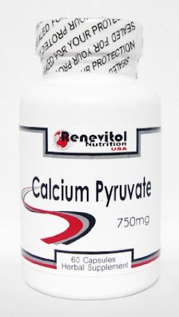 Calcium Pyruvate (120 Caps/2 Bottles) 750Mg In One Capsule - Calcium Pyruvate - Weight Loss