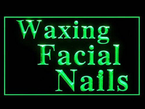 C B Signs Waxing Facials Nails Led Sign Neon Light Sign Display