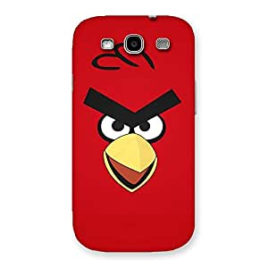 Delighted Red Yelo Peak Back Case Cover for Galaxy S3