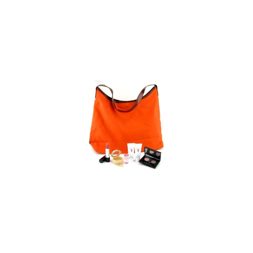 Elizabeth Arden Travel Set Perfume 5ml + Day Cream 15g + Hand Cream 15ml + Eye Capsules 7pcs + Lipstick + Eye Shadow + Bag   6pcs+1bag