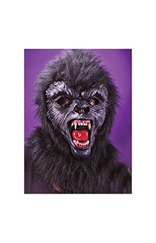 Gorilla Mask with Teeth deluxe