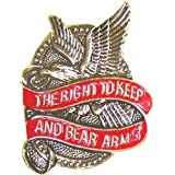 Right to Bear Arms Lapel or Hat Pin