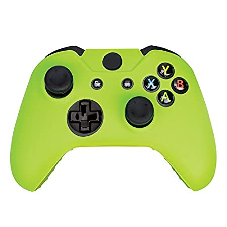 Surge Grips Xbox One & One S Controller Skin Case & Analog Thumb Stick Grips Cap Cover - Xbox One