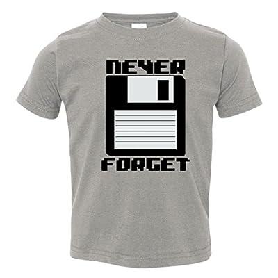 Never Forget Floppy Disc Retro Toddler T-Shirt
