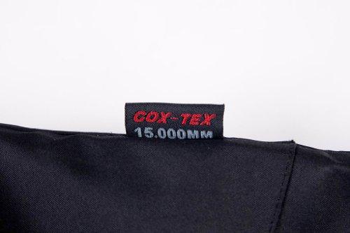 COX SWAIN TITANIUM Herren 3-Lagen Hartshelljacke Xtrem 15.000 Wassersäule 10.000 atmungsaktiv, Farbe: Black, Größe: XL -