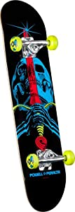 Buy Powell-Peralta Blacklight Skull and Sword Complete Skateboard by Powell-Peralta