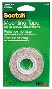 3M 2145 1/2 x 500-Inch Interior Window Film Mounting Tape - Quantity 12